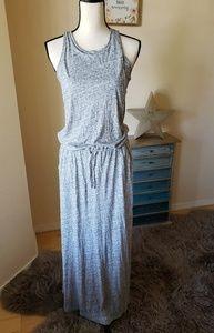 NWT! Pretty gray Roxy maxi dress